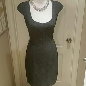 Sexy Armani Exchange Tweed Dress Sz 8